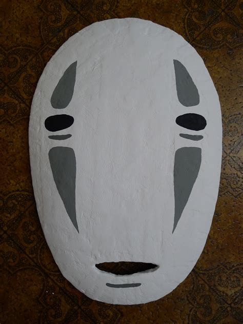 Mask With Paper - no mask from spirited away paper mache 183 my
