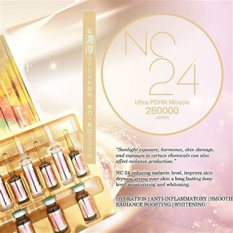 Nc24 Pdrn Dna Collapro Whitening nc24 ultra pdrn miracle 280000 japan anti aging
