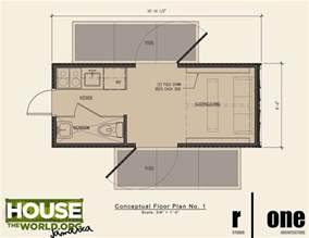Container Floor Plans by Shipping Container Home Floor Plan 20 Ft Houses