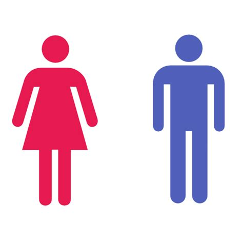 man woman bathroom symbol large man woman bathroom sign clip art at clker com