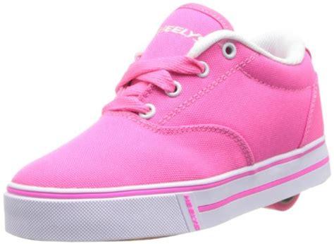 New Longch Neo Pink Small heelys launch skate shoe kid big kid neon pink 4 m us big kid desertcart