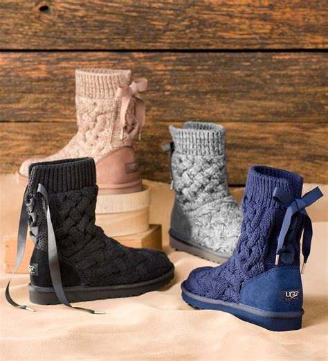 ugg knit boots clearance these get cozy in ugg 174 australia s