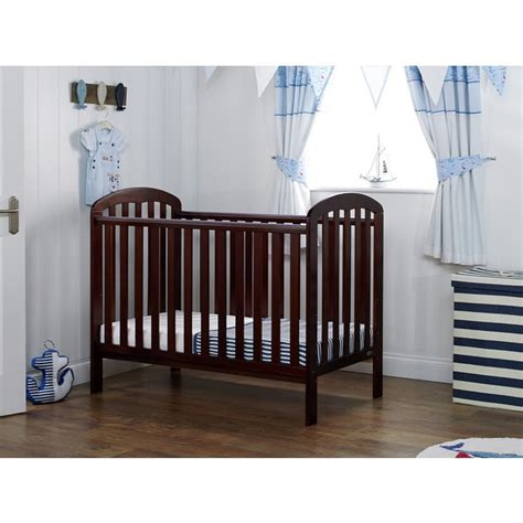 Buy Obaby Lily Cot Walnut At Argos Co Uk Your Online Argos Baby Cribs