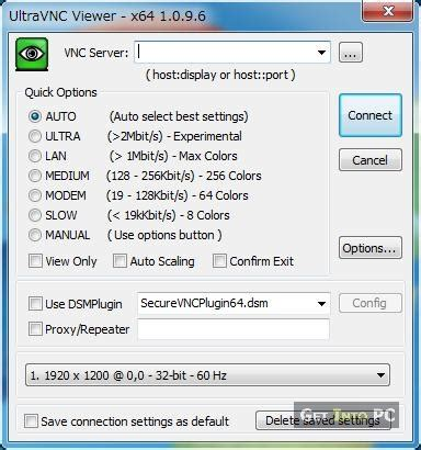 Ultravnc Totally Free Remote Pc Software With All The Bells Whistles by Ultravnc Viewer Remote Desktop Manager