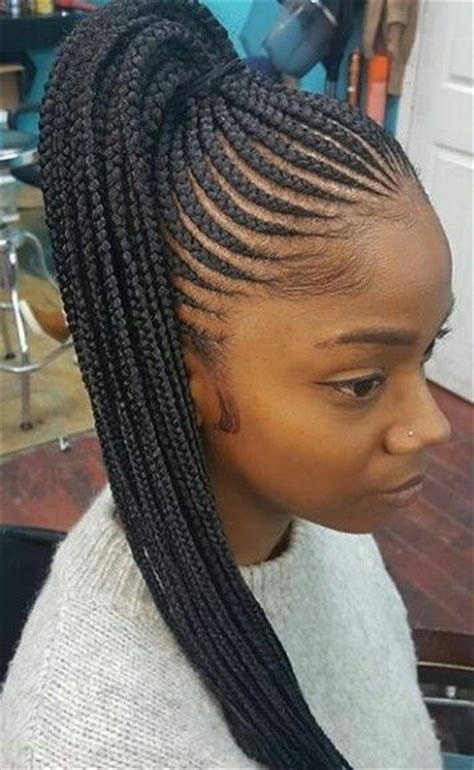 One Braid Black Hairstyles by 35 Absolutely Beautiful Feed In Braid Hairstyles