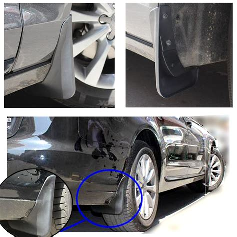 front rear molded mudflaps fit for 2011 2015 audi a6 c7