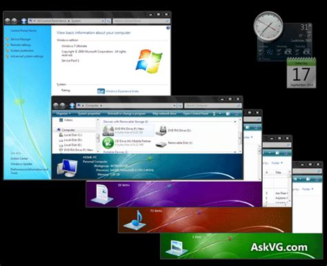 themes for windows 7 basic free download download dark basic theme for windows 7 askvg