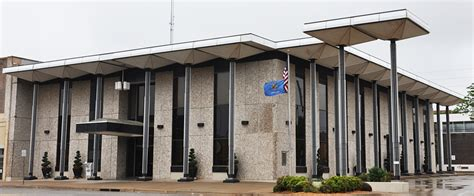 bank of stillwater oklahoma mid century modern banks roadsidearchitecture
