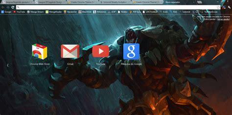 google themes rengar headhunter rengar 1366x768 chrome theme themebeta