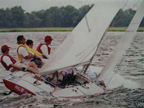 e scow racing johnson e scow 1991 atlanta georgia sailboat for sale