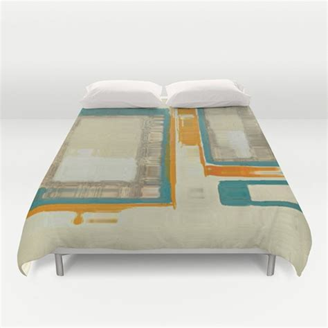 Mid Century Modern Comforter by Mid Century Modern Abstract Duvet Cover Midcentury