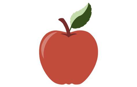 apple diagram education pictograms vector stencils library