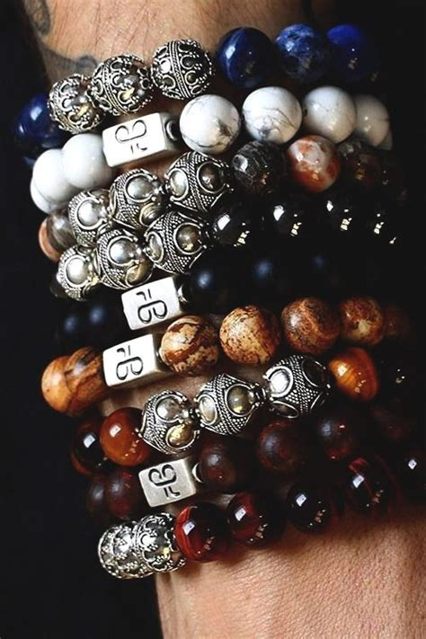 premium beaded bracelets by the aurum brothers handcrafted in the netherlands 925 silver