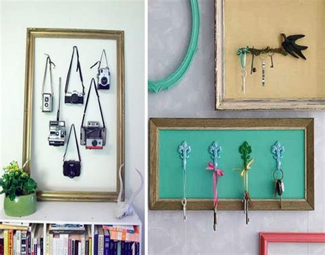 diy recycle picture frames home decor idea recycled