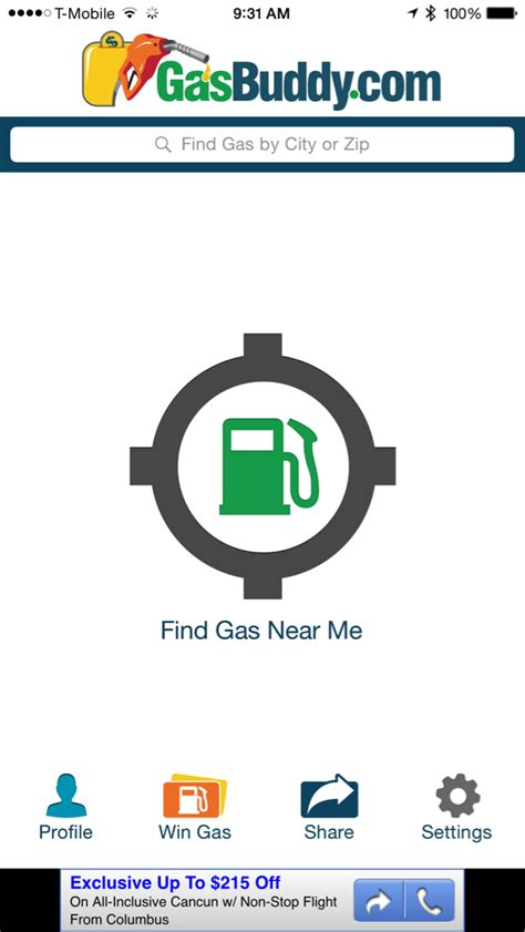 gasbuddy app for android image gallery my gasbuddy