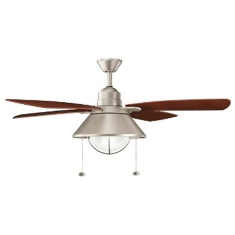 Coastal Ceiling Fans by Seaside Indoor Outdoor Ceiling Fan By Kichler At Lumens