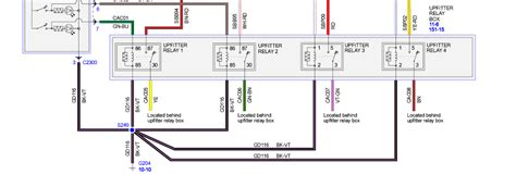 ford 2014 upfitter switches wiring diagram circuit