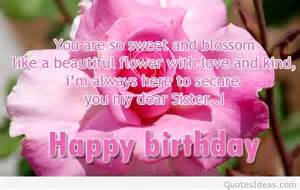 Pin happy birthday sister quotes birthday sayings view original on