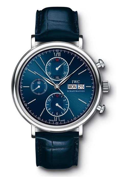 iwc portofino chronograph edition laureus sport for