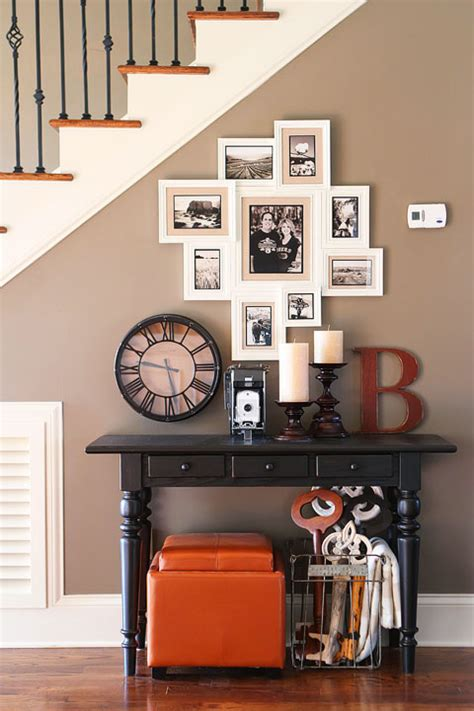 entryway wall art ideas photo gallery wall under the stairs house tour kevin