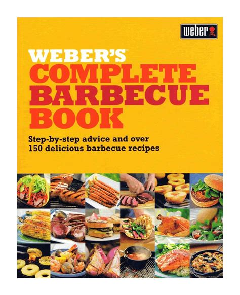 Complete Chiminea Set Weber S Complete Barbecue Book 163 13 49 Garden4less Uk Shop