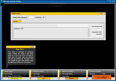 sitecube website builder download softpedia sitecube website builder download