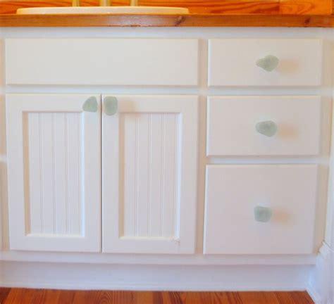 glass kitchen cabinet pulls sea glass stone cabinet knob beach glass drawer pull