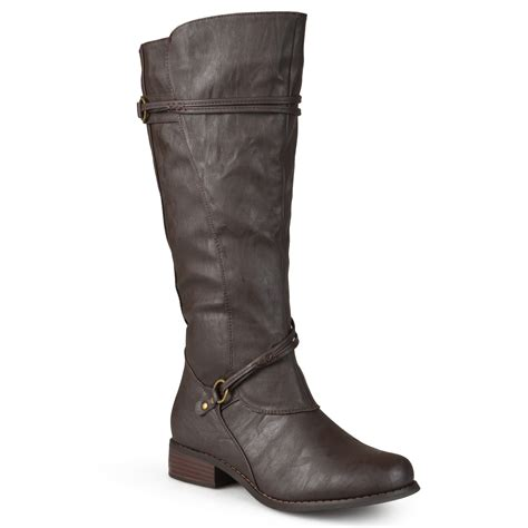 journee collection womens wide and wide calf ankle