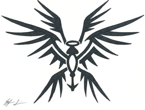 seraph tribal tat by sirosis on deviantart