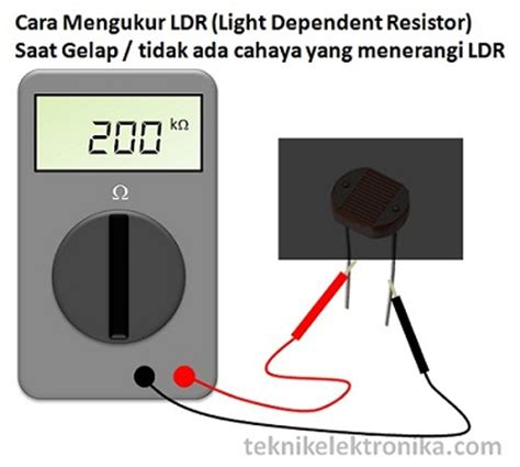 ldr light dependent resistor adalah pengertian ldr light dependent resistor dan cara mengukur ldr