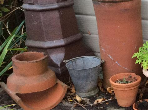 Chimney Pot Planters by Chimney Pot Planters East Cowes Expired Wightbay