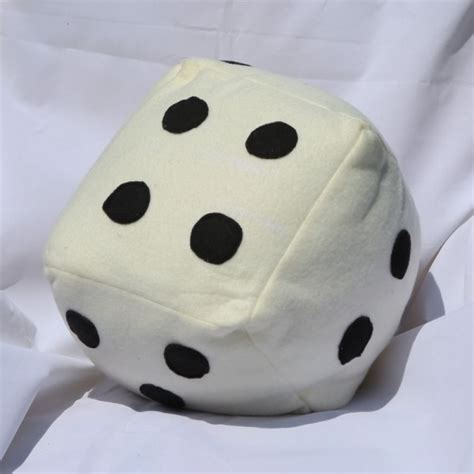 Handmade Dice - handmade dice pillow supreme accents