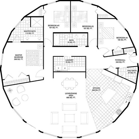 Circle House Plans by Best 25 House Plans Ideas On