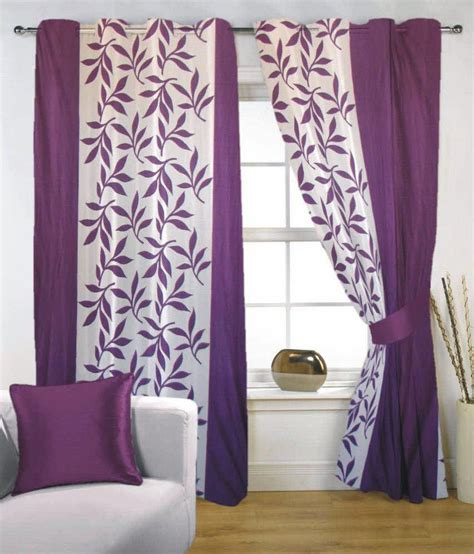 buy one get one free curtains hsr collection purple long door eyelet curtains buy 1 get