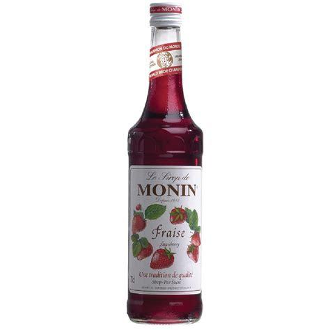 Strawberry Syrup Merk Monin monin syrup strawberry caterspeed