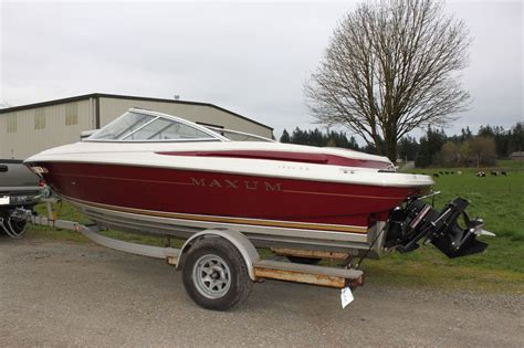 maxum boat trailer fenders maxum 1900sr 1996 for sale for 10 500 boats from usa