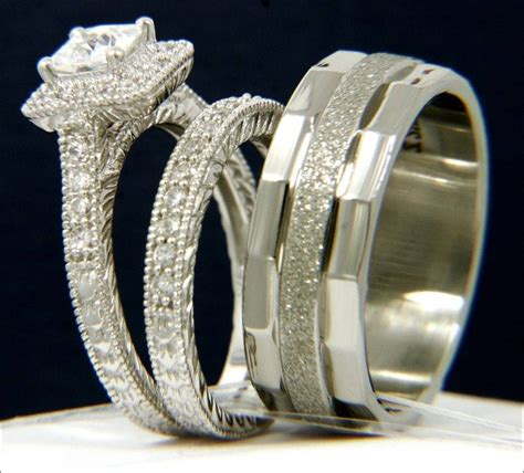 Wedding Rings Groom by And Groom Wedding Ring Sets 31 Best Inspiration