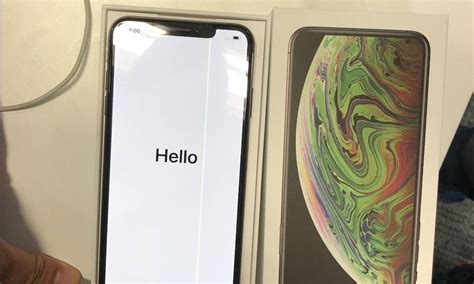 does the iphone xs max a widespread display problem