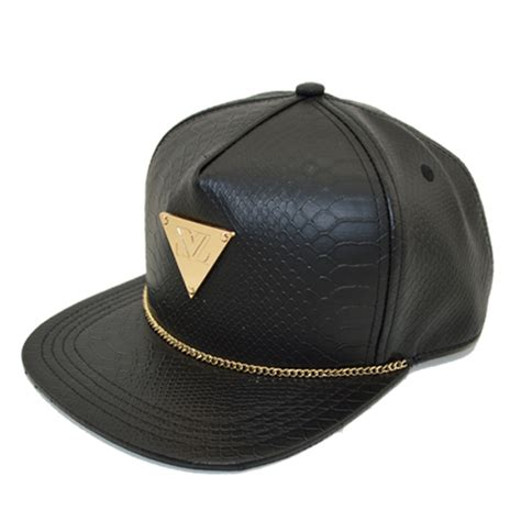 buy leather snapback hats custom buy leather snapback