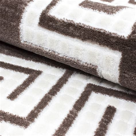 quality rugs new modern contemporary squares border pixel black grey purple quality rugs