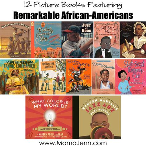 black history picture books 12 picture books about remarkable americans free