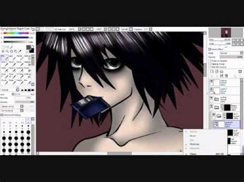 paint tool sai not opening note lawliet l paint tool sai speed paint