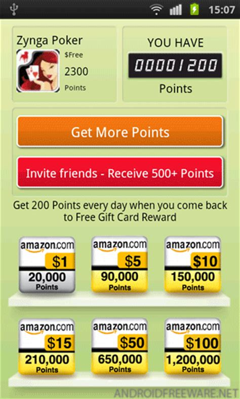 Gift Card Reward Apps - free gift card rewards free android app android freeware