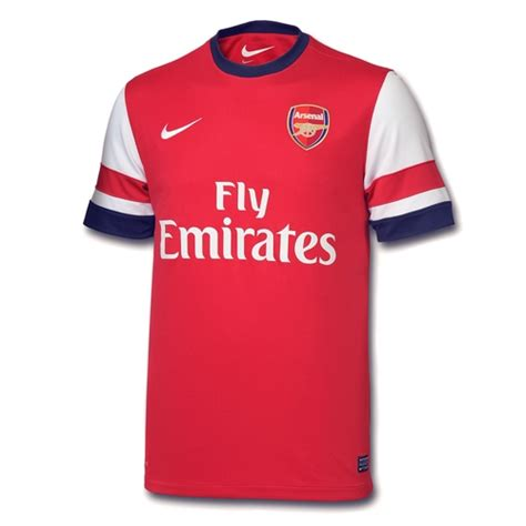 Jersey Arsenal 2012 2013 official new arsenal jersey 2012 2013 nike arsenal home kit 12 13 football kit news new