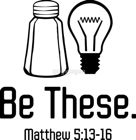 quot be these salt and light christian matthew 5 13 16 t