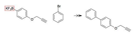 Suzuki Chemistry Inorganic Chemistry Terminal Alkyne In Suzuki Coupling