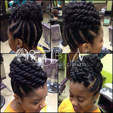 black woman twist hair styles up in pony tails braids and twist hairstyles for black urban hair co