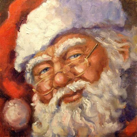 painting santa claus s artstuff santa painting 2010