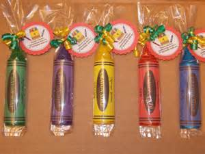 Crayola Favors by 10 Crayon Soap Favors With Tags Curly Ribbons Crayon