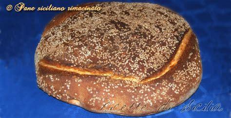 pane di casa siciliano ricette pane siciliano terza parte